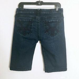 Kut From The Kloth Denim Jean Bermuda Shorts 8